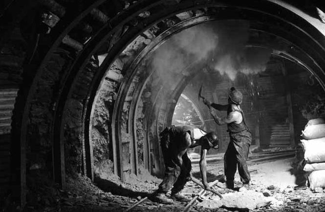 История добычи угля до XVIII века