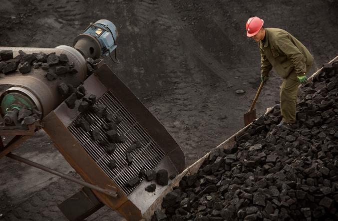 Дефицит угля в Китае в октябре 2021